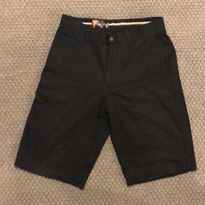 Volcom Men's Black Pinstripe Shorts - Sz. 31